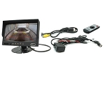 Rostra 7-Inch, Dual Camera Input LCD Video Monitor