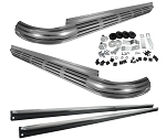C2 Corvette 1963-1967 Aluminized Side Exhaust Kit - W/O Headpipes