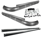 C2 Corvette 1963-1967 Aluminized Side Exhaust Kit with 2.5 Inch Manifold