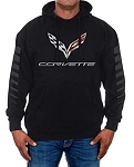 C7 Corvette 2014-2019 Logo Pullover Hoodie - Size Options