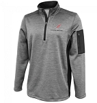 C7 Corvette 2014-2019 Roadway Silver Quarter-Zip Men's Jacket
