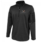 C7 Corvette 2014-2019 Roadway Graphite Quarter-Zip Men's Jacket