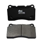 C5 C6 Corvette Base/Z06 1997-2013 DBA XP+735 Series Brake Pads - Side Option
