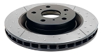 C6 Corvette Z06/Grand Sport 2006-2013 DBA Street Series Drilled/Slotted Rotor - Side Selection