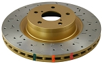 C4 Corvette Base/ZR1/Grand Sport 1990-1996 DBA Front 4000 Series Drilled/Slotted Rotor