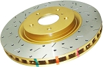 C5 C6 Corvette Base/Z06 1997-2013 DBA 4000 Series Drilled/Slotted Rotor - Side Option