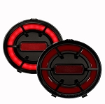 C6 Corvette 2005-2013 Anzo Fiber Optic Tail Lights