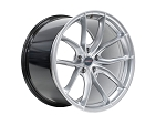 C8 Next Gen Corvette 2020+ Forgeline F01 Liquid Silver Wheel Set - 19x8.5/20x11