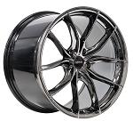 C6 C7 Corvette Base/Z06 2006-2019 Forgeline F01 Black Ice Wheel Set - 19x10/20x12