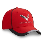 C7 Corvette 2014-2019 Red Performance Cap