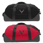 C8 Next Gen Corvette 2020+ Eddie Bauer Medium Duffel Bag w/ Logo - Color Options