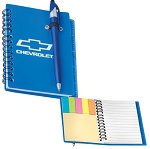 Chevrolet Spiral Bound Journal Book