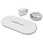 Supernova Wireless Duel Charging Pad w/ Chevrolet Gold Bowtie Logo