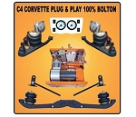 C3 C4 Corvette 1968-1996 FBSS Complete Air Suspension Kits - Plug and Play - Year Options
