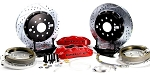 C4 Corvette 1988-1996 Baer Pro+ 14 inch Rear Brake System w/ Parking Brake Assembly