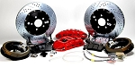 C4 Corvette 1988-1996 Baer Extreme+ 14 inch Rear Brake System w/ Park Brake Assembly