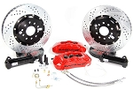 C5 Corvette 1997-2004 Baer Pro+ 14 inch Rear Brake System