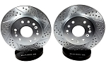 C5 C6 Corvette 1997-2013 Baer Sport Rear Rotors