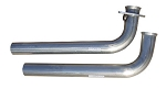 C4 Corvette 1986-1991 Pypes Performance 2.5 inch Exhaust Downpipes