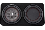 Kicker Comp RT Single 10 inch Low Profile Subwoofer Enclosure