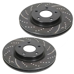 C4 Corvette 1988-1996 5.7L EBC GD Sport Rotors