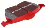 C6 Grand Sport Corvette 2010-2013 6.2L EBC Redstuff Ceramic Low Dust Brake Pads