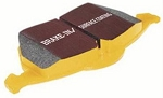 C6 Grand Sport Corvette 2010-2013 6.2L EBC Yellowstuff 4000 Series Brake Pads