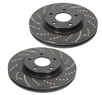 C4 Corvette 1984-1987 5.7L EBC GD Series Sport Rotors