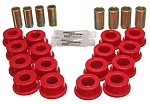 C4 Corvette 1984-1995 Energy Suspension Rear Trailing Arm Bushing Set - Red