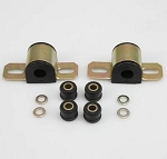 C4 Corvette 1984-1996 Energy Suspension 19MM Rear Sway Bar Bushings with Brackets - Color Options