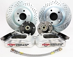 C4 Corvette 1984-1996 Y-Body Pro Driver Series Front Disc Brake Conversion Kit