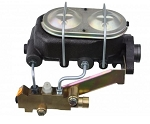 Universal Master Cylinder Kit with Side Mount Front Disc / Rear Drum Brake Proportioning Valve - Multiple Options