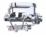 Universal Master Cylinder Kit Chrome 1-1/8