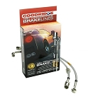 C2 C3 C4 C5 Corvette 1963-2004 Goodridge G-Stop Stainless Steel Braided Brake Hose Brake Line Kit - Multiple Options
