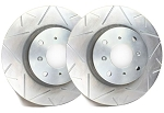 C4 Corvette 1984-1988 SP Performance Peak Series Rotors With Silver Zinc Plating - Multiple Options