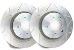 C4 Corvette 1988-1995 SP Performance Peak Series Brake Rotors with Silver Zinc Plating - Multiple Options