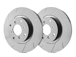 C4 Corvette 1988-1995 SP Performance Slotted Brake Rotors with ZRC Rust Preventative Coating - Multiple Options