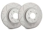 C6 Corvette Base 2005-2013 SP Performance Peak Series Brake Rotors with Gray ZRC - Multiple Options