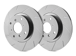 C7 Corvette Stingray w/out Z51 2014-2019 SP Performance Slotted Front Brake Rotors - Finish Selection