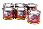 POR-15 Rust Preventative Black Paint 4 oz Cans - Six Pack