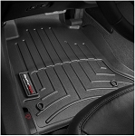 C6 Corvette 2005-2013 WeatherTech Front FloorLiners w/ Retention Hooks (12-13 for Models On or Before July 2012) - Color Options