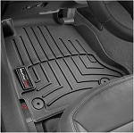 C6 Corvette 2005-2013 WeatherTech Front FloorLiners w/ Retention Knobs for Driver and Passenger Side - Color Options