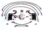 C5 C6 Corvette 1997-2013 LG Motorsports Differential and Transmission Cooler Kit