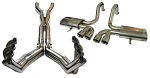 C5 Corvette 1997-2004 LG Motorsports Super Pro Headers and Big 3 Complete Exhaust Package - Multiple Options