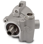 Eddie Motorsports GM Type II / TC Style Aluminum Power Steering Pump Only w/ Threaded Mounting Holes for Attached Reservoir - Finish Options