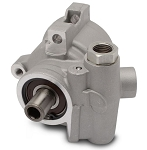 Eddie Motorsports GM Type II / TC Style Aluminum Replacement Power Steering Pump Only for Attached Reservoir - Finish Options