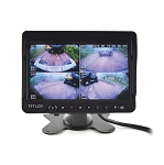 7 inch Digital Quad Display Monitor w/ DVR