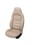C6 Corvette 2005-2011 Leather and Vinyl Sport Seat Covers - Color Options