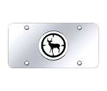 Deer Hunter Chrome on Chrome License Plate
