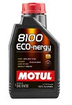 Universal Motul 8100 Eco-nergy 100% Synthetic Engine Oil 5W30 - Size Option
